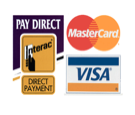 debit and credit accepted at Herold Road Medical